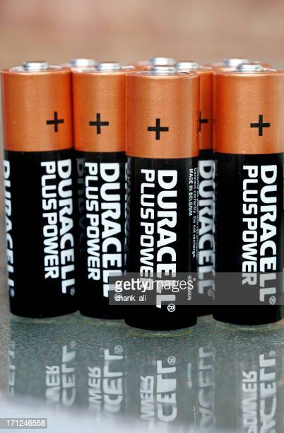 small Duracell batteries,