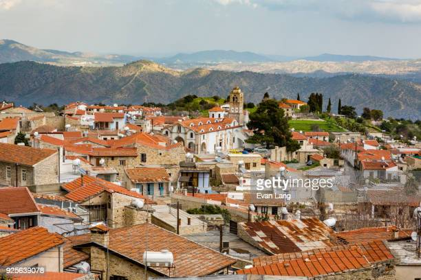 small european village - republic of cyprus stock pictures, royalty-free photos & images