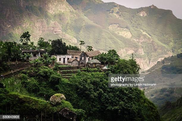 Small Farm in Paul Valley, Santo Antao, Cape Verde
