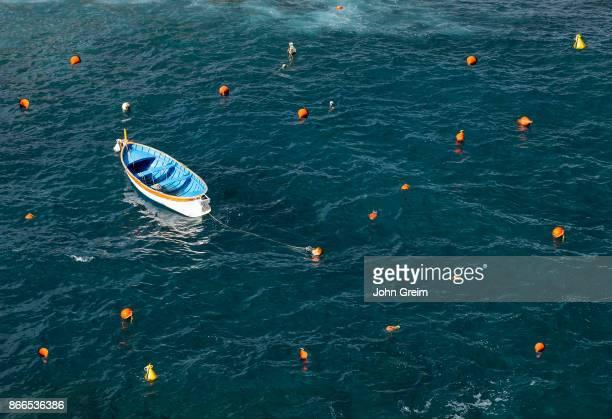 TERRE RIOMAGGIORE LIGURIA ITALY Small fisherman's dory