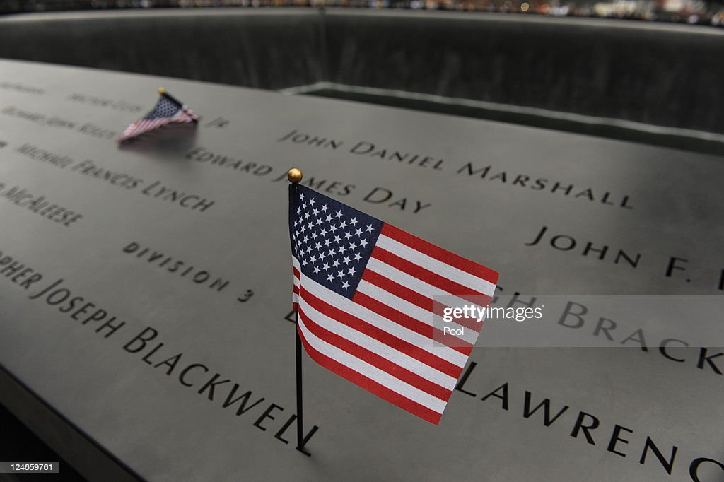 New York City Commemorates 10th Anniversary Of 9-11 Terror Attacks : News Photo