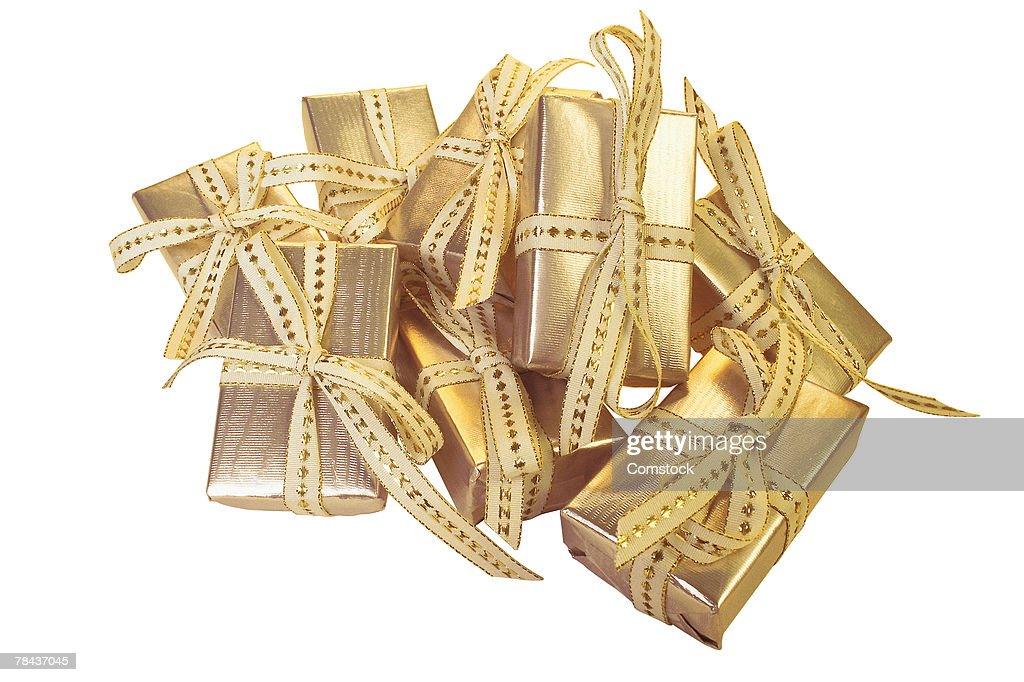 Small gifts : Stockfoto