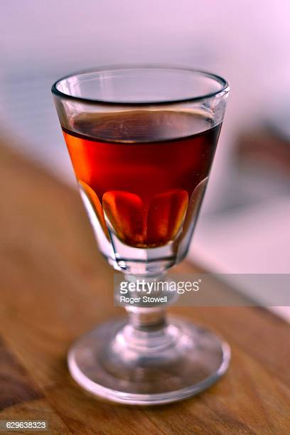 Small glass of Oloroso sherry