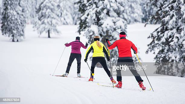 Small Group Back Country Nordic Skiing