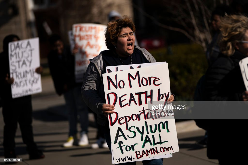 Supreme Court Hears Arguments In Asylum Seekers Right To Appeal Case : News Photo