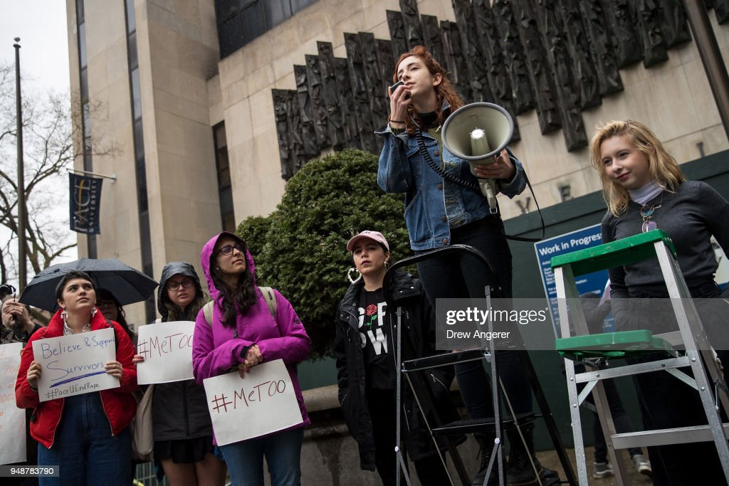 Pace University Students Stage Walk Out Protest Against Sexual Violence On Campus