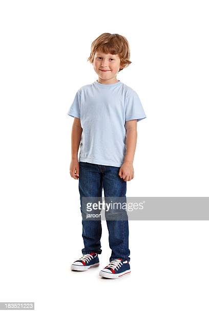 small happy boy - white pants stock pictures, royalty-free photos & images