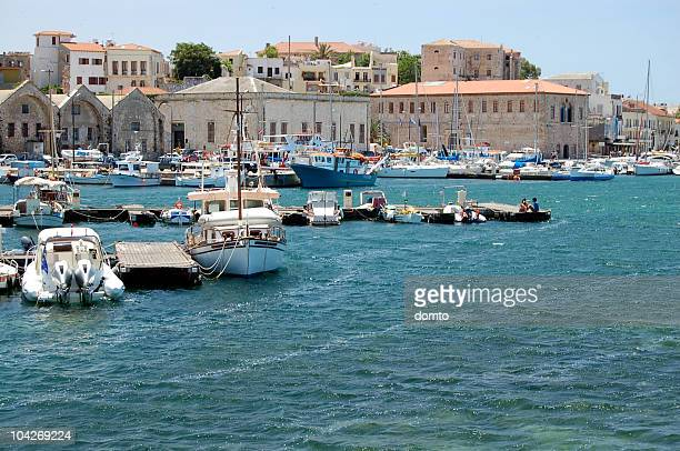 Small harbour on Crete