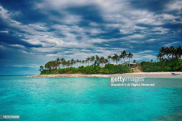 small island ly son island - quảng ngãi stockfoto's en -beelden