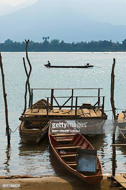 small jetty in Cambodia