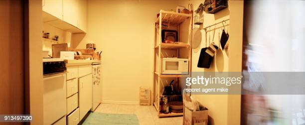 small kitchen - panoramic