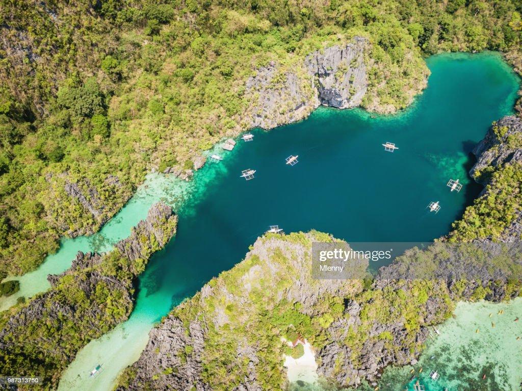 Small Lagoon And Big Lagoon Palawan Miniloc Island El Nido