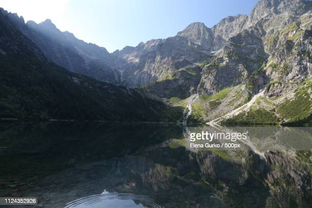 small lake - valley of the ten peaks stock pictures, royalty-free photos & images