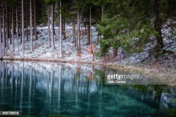 Small lake Winterberg