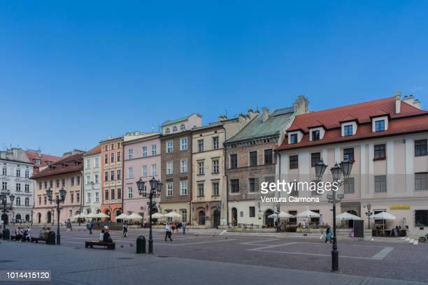 small market square (mały rynek) in kraków, poland - kraków ストックフォトと画像