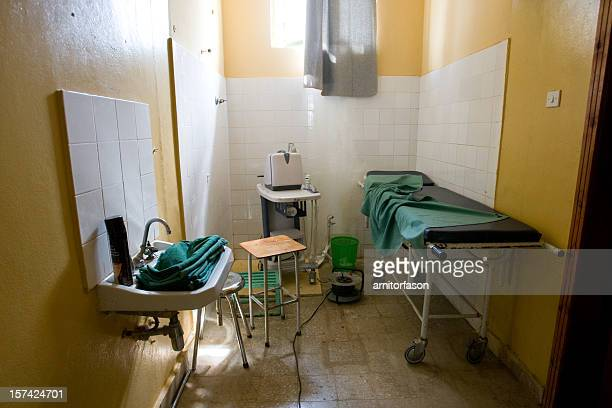 a small medical examination room - developing countries stock photos and pictures