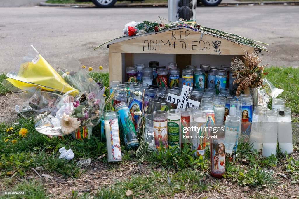 Chicago Reacts To Video Of Police Shooting That Killed 13 Year Old Adam Toledo : News Photo