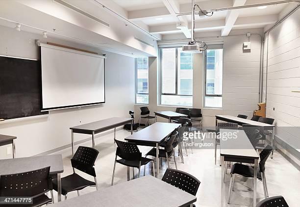 Small Modern University Classroom
