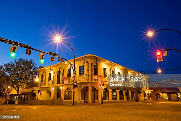 small office building - thompson okanagan region british columbia stock pictures, royalty-free photos & images
