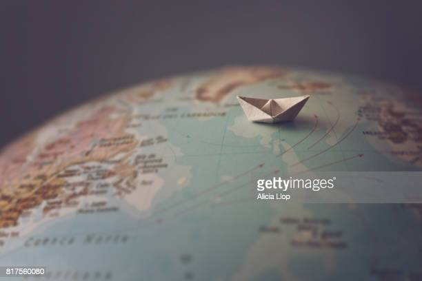 small paper boat - finding stock photos and pictures