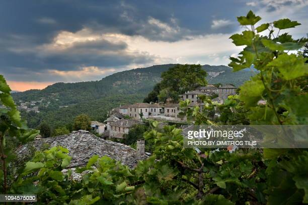 small papigko - epirus greece stock pictures, royalty-free photos & images