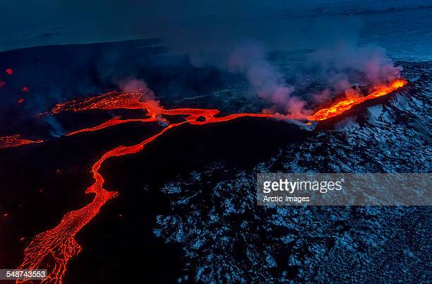Small part of Lava flowing, Iceland