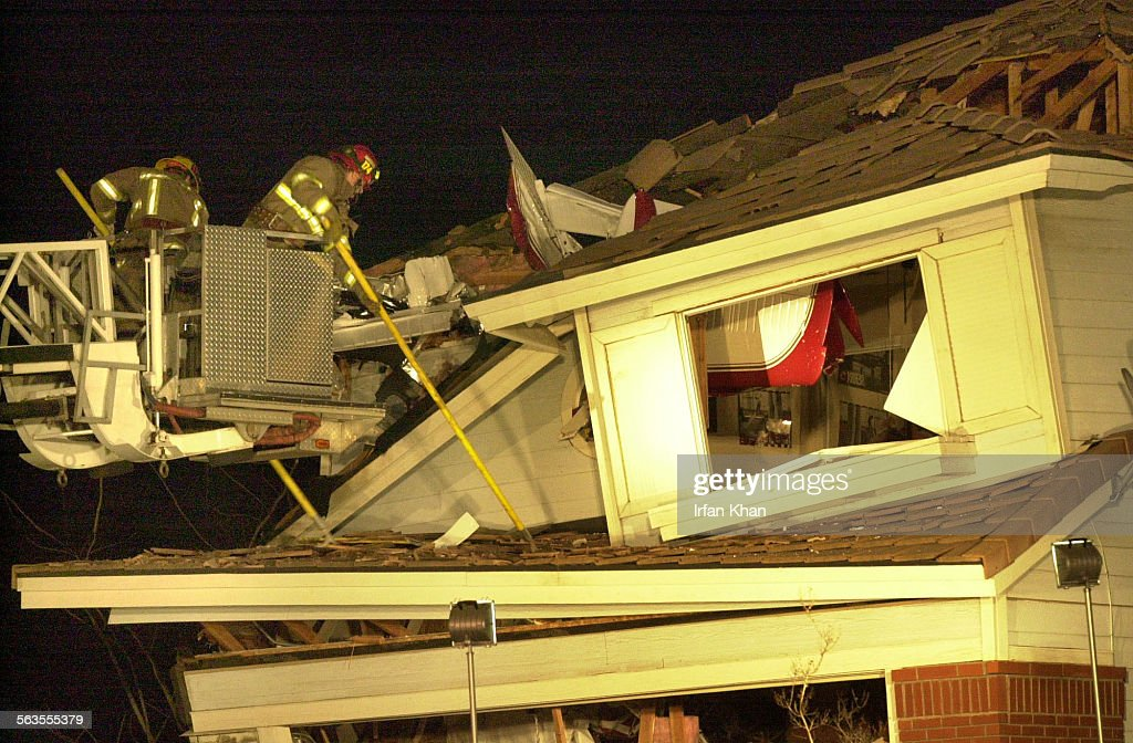 A Small Plane Crashed Into A House In Rancho Cucamonga Suburb East