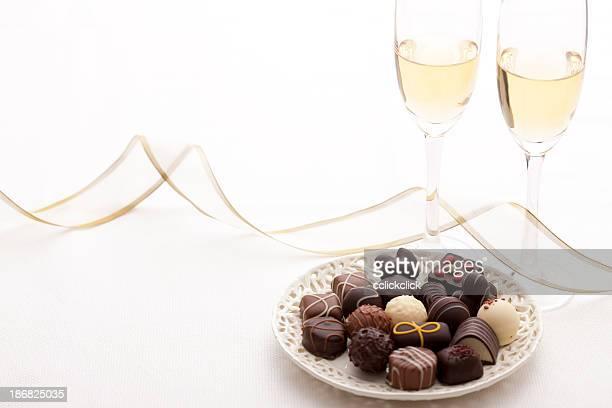 Golosinas Chocolate y champán