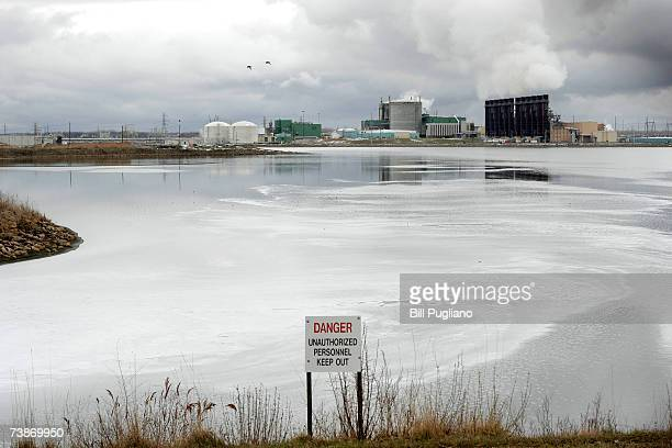 A small portion of the Dow Chemical plant is shown from a park overlook April 12 2007 in Midland Michigan Dow fired two of its executives April 12...