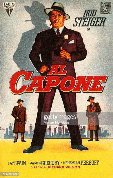 Small Poster for the Film Al Capone