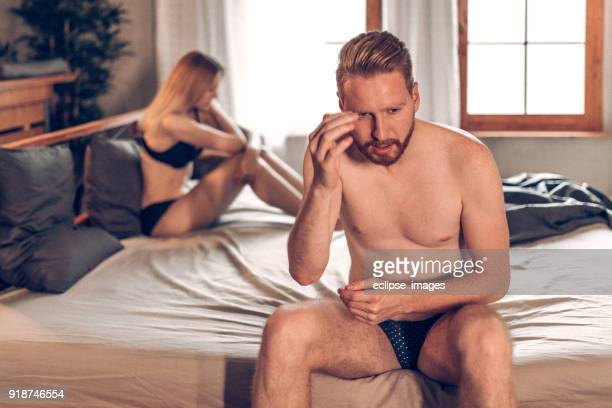 small problems in relationship - erectile dysfunction stock photos and pictures