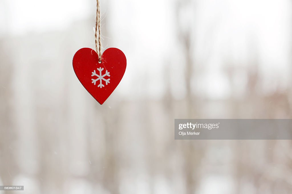 Small red heart : Stock Photo