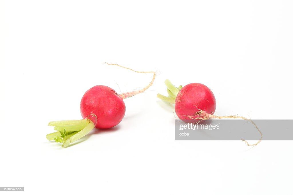 Small red radish : Foto de stock