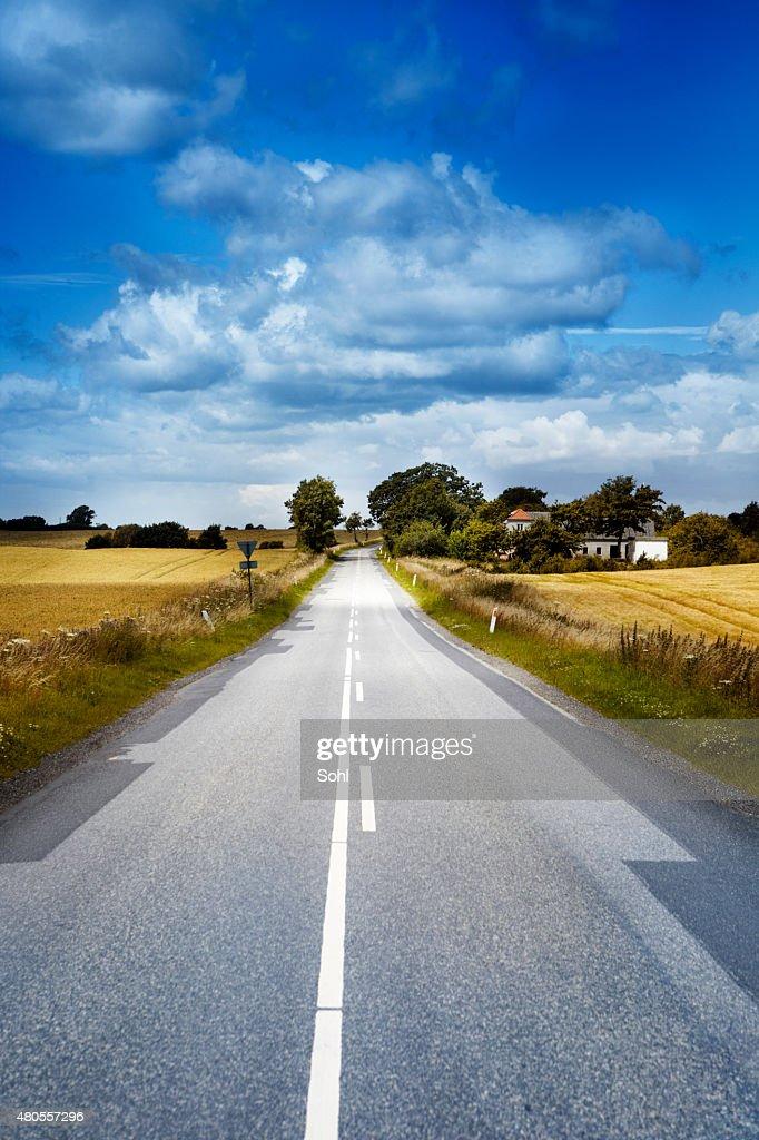 Small Road : Stock Photo