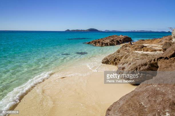 small rocky beach - pierre yves babelon madagascar stock pictures, royalty-free photos & images