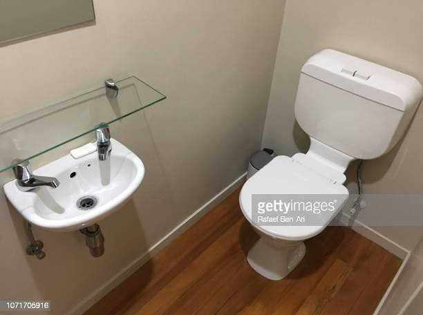 Small Room with Flush Toilet