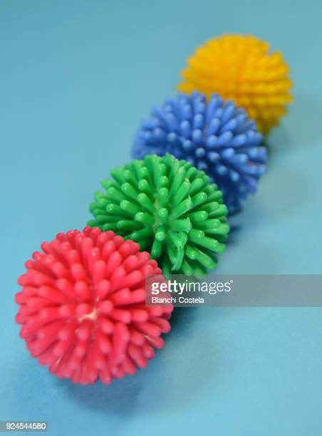 Small rubber balls for cats to play