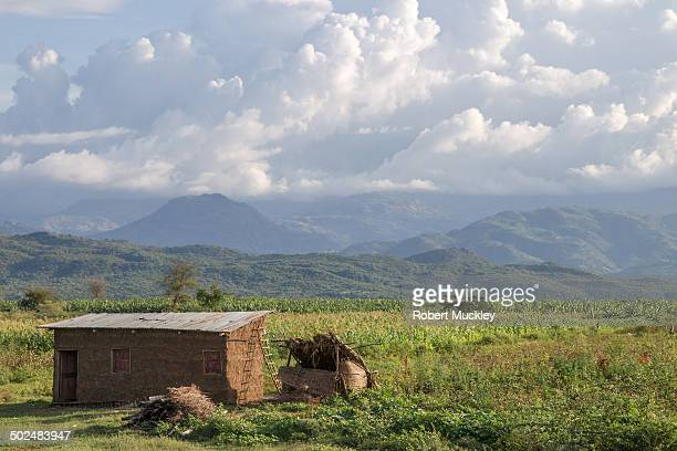 CONTENT] A small shack on a high plateau on the Konso Arba Minch Road Southern Ethiopia The shack looks over the distant green mountains and dense...