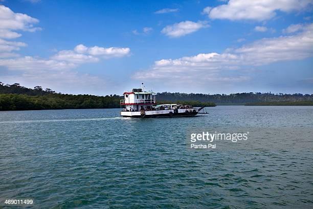 Small ship sailing, Andaman