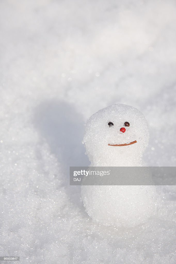 Small Snowman : ストックフォト