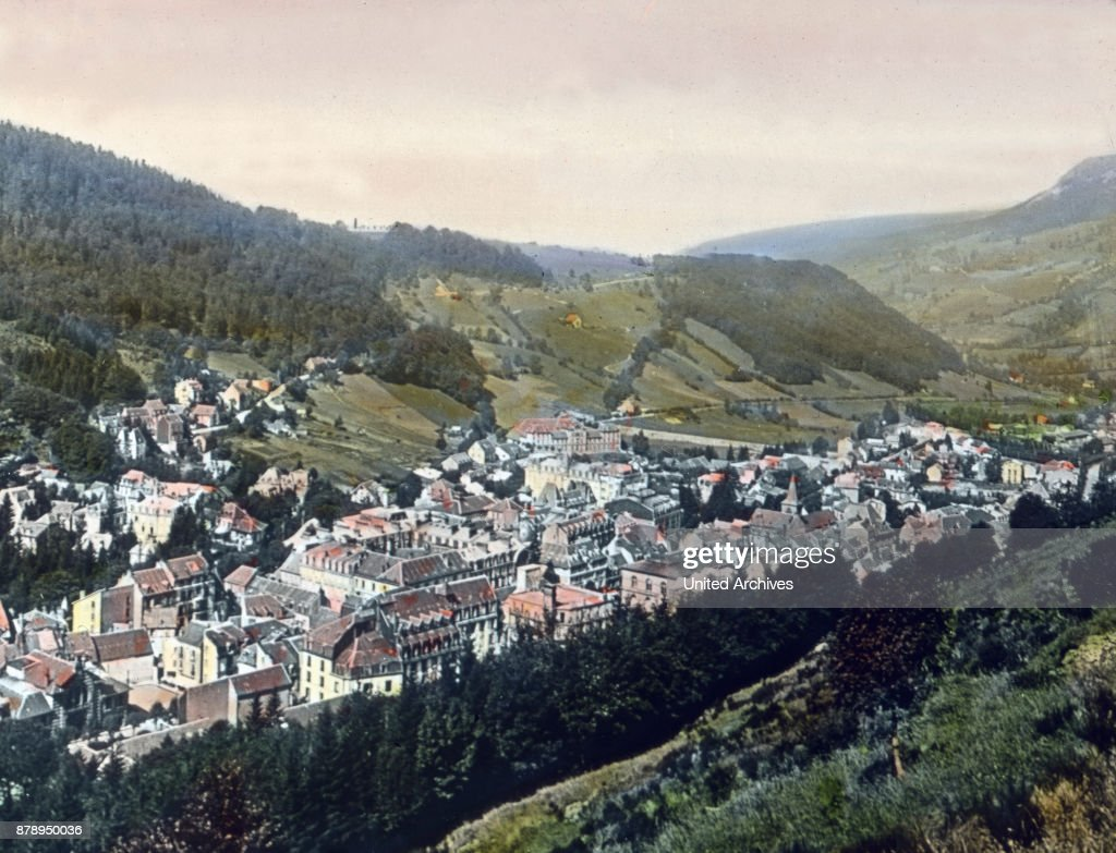 A Small Spa Town With Thermal Springs Is Le Mont Dore In The
