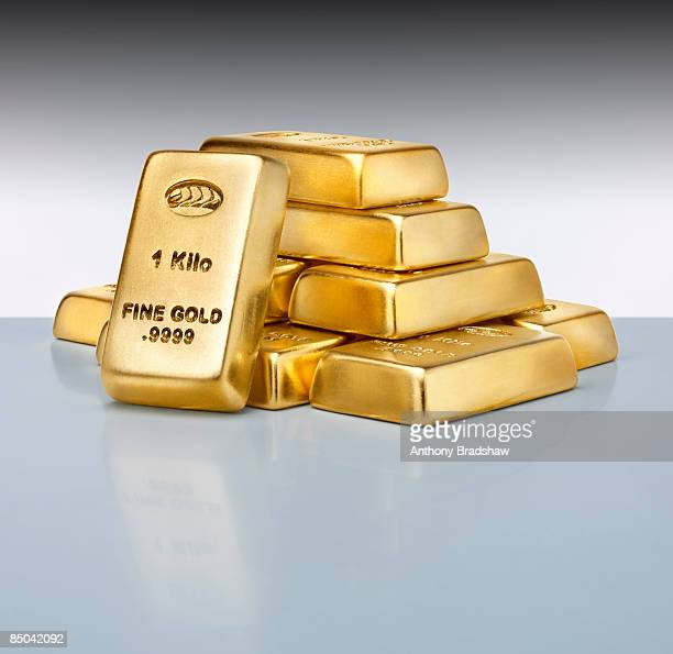 Small Stack of gold ingots