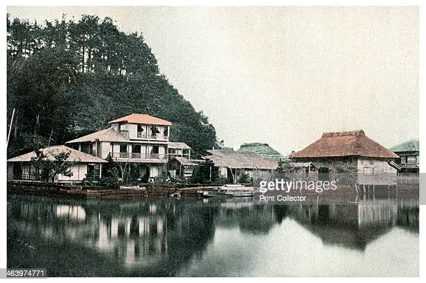 Small summer hotel, Kanazawa, Japan, 1904. A print from Japan, its History, Arts and Literature, Volume V, by Captain F Brinkley, TC and EC Jack, 34...
