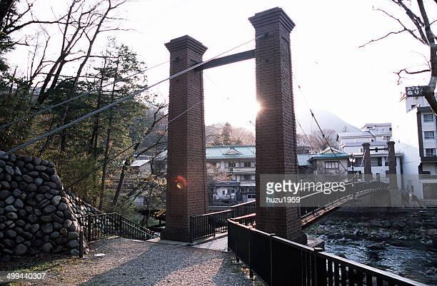 small suspension bridge - 栃木県 ストックフォトと画像