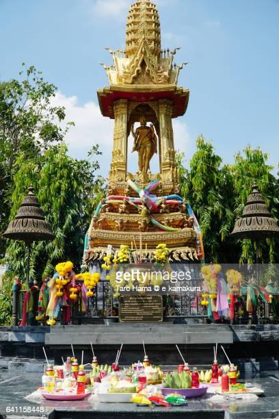 A small temple in Bangkok