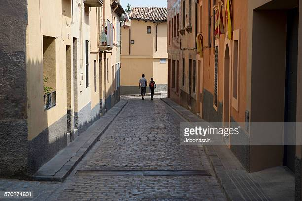 small town catalonia region spain - jcbonassin stock pictures, royalty-free photos & images