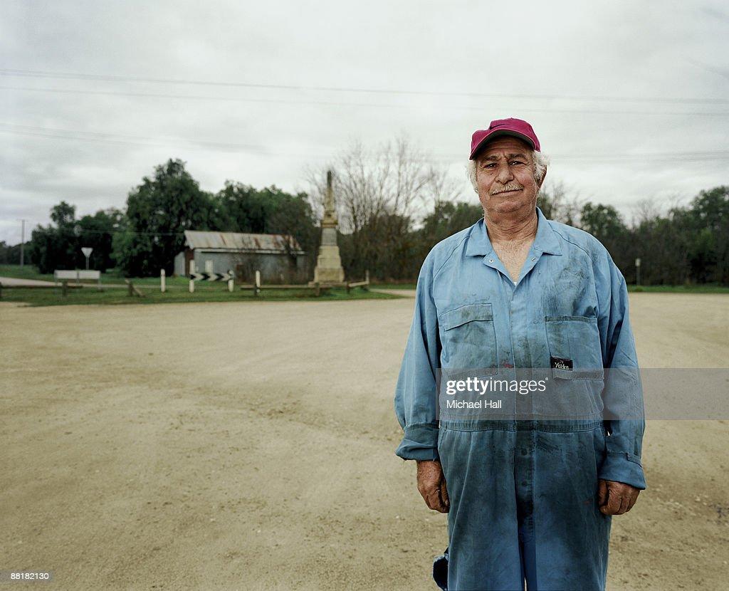 Small town Mechanic : Stock Photo