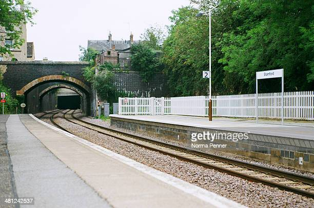 Small town Stamford Rail Station in central England. Home of the historic Burghley Three Day event, an international draw for equestrian enthusiasts....
