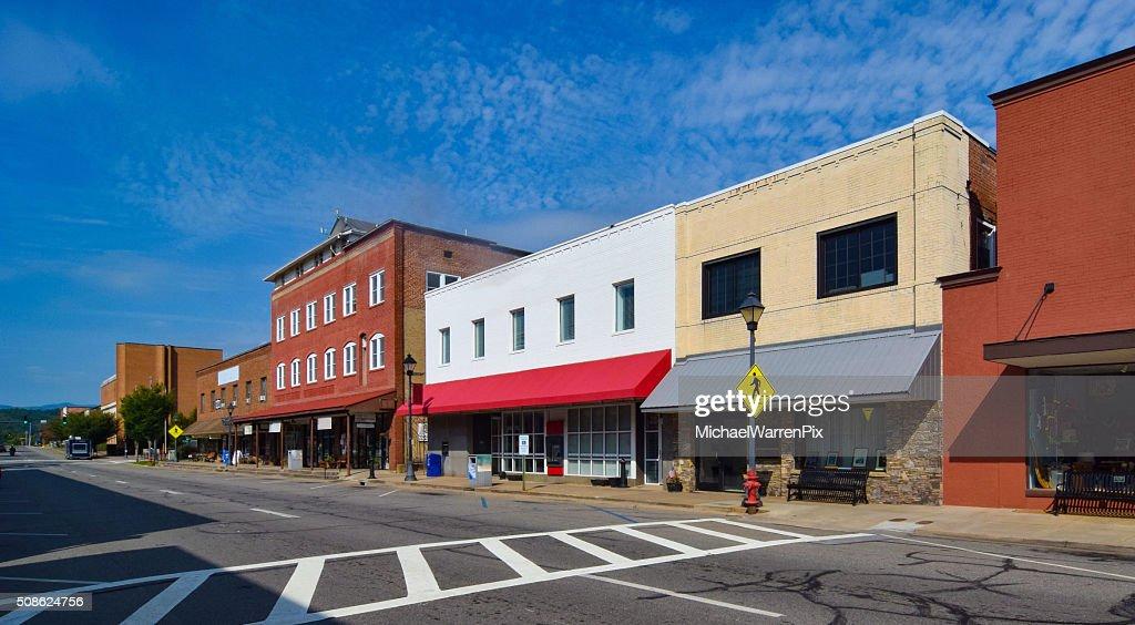 Small Town USA : Stock Photo