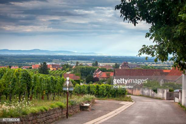 A small village in Alsace